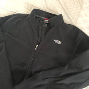North face suede  jacket men's size large